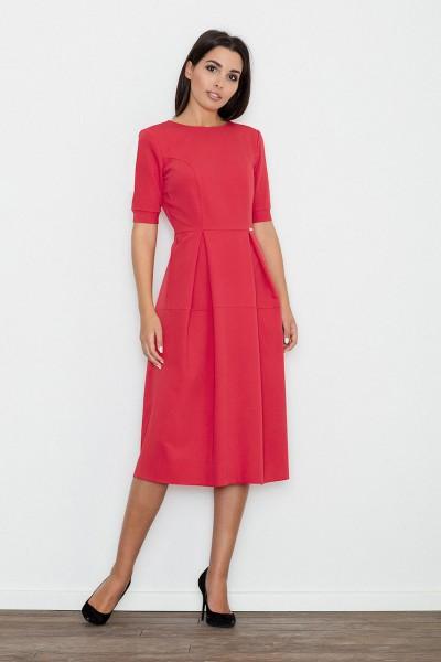 Dámské šaty Figl  M 553 červené