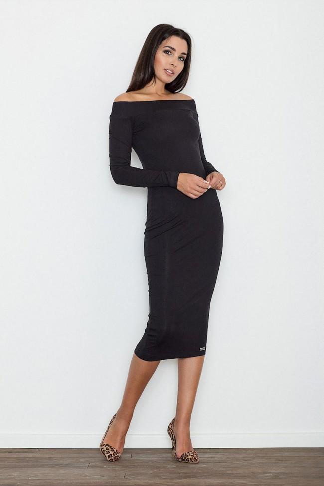 Dámské šaty Figl  M 558 černá