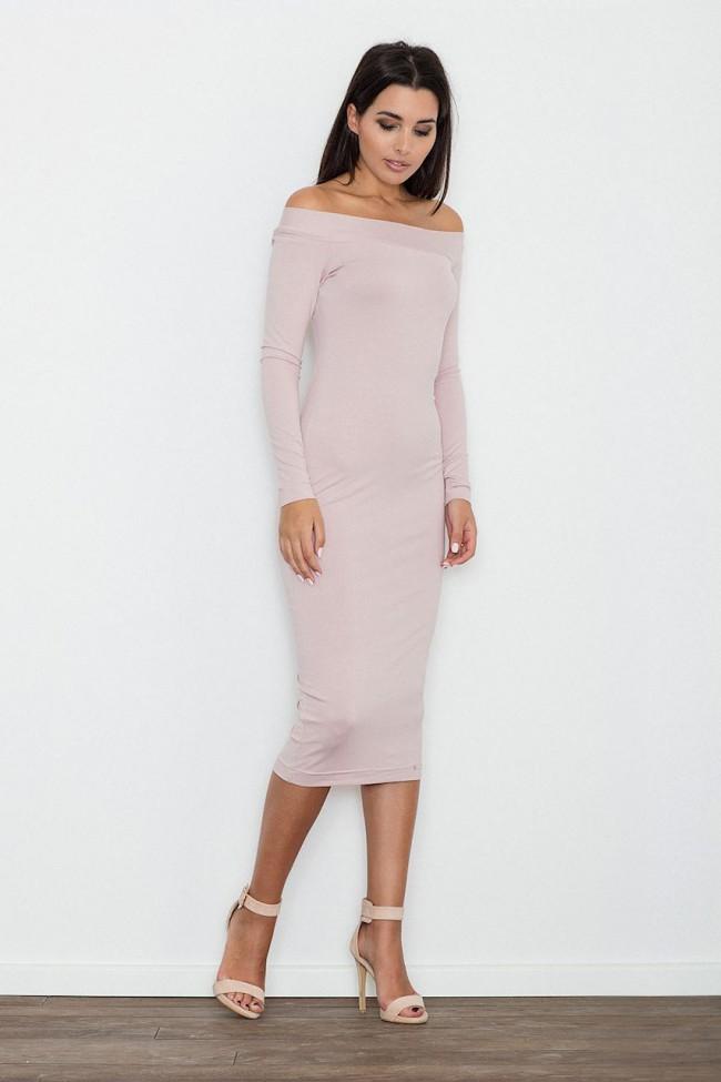 Dámské šaty Figl  M 558 růžové