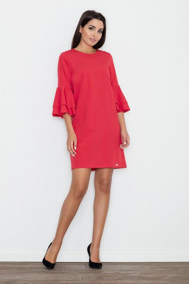 Dámské šaty Figl M564  červené