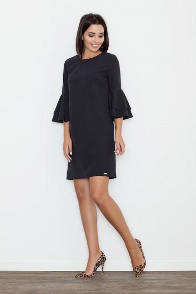 Dámské šaty Figl M564  černé
