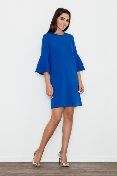 Dámské šaty Figl M564  modré