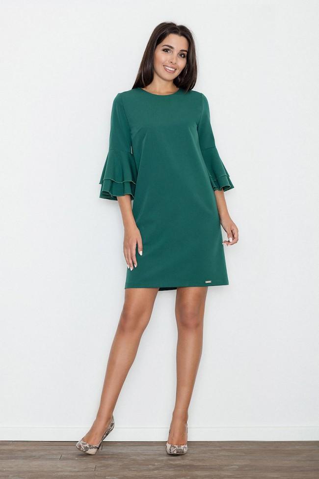 Dámské šaty Figl M564  zelené