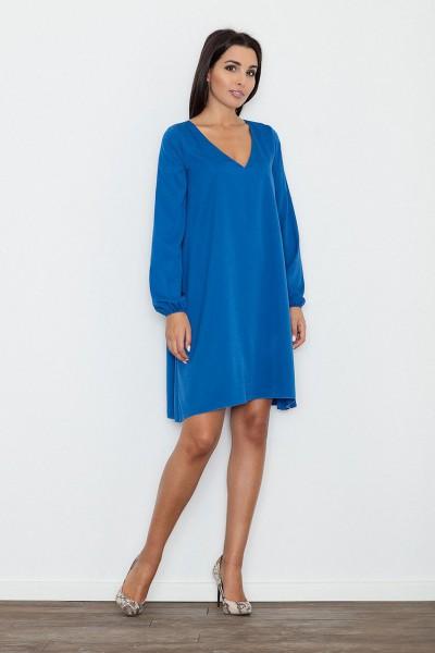 Dámské šaty Figl  M 566 modré