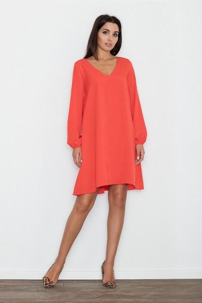 Dámské šaty Figl  M 566 červené