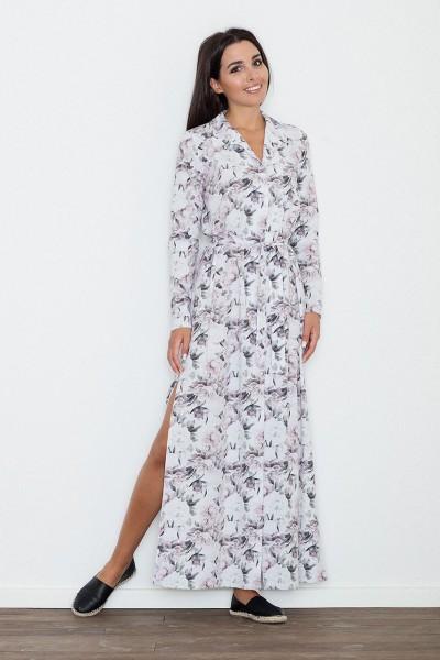 Dámské šaty Figl  M 567 vzorované