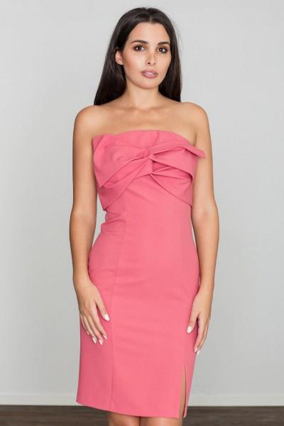 Dámské šaty Figl  M 571 korálová