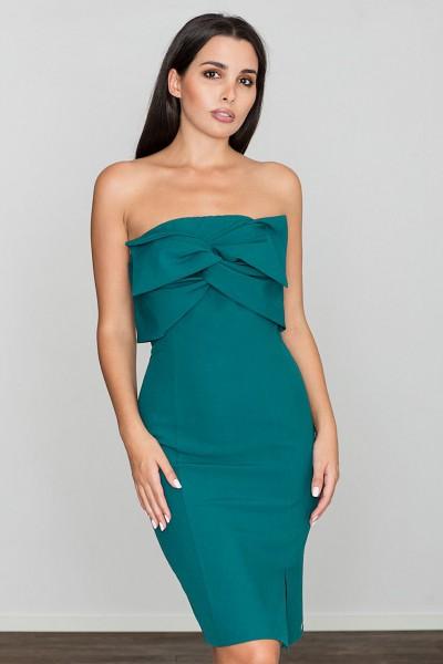 Dámské šaty Figl  M 571 zelené