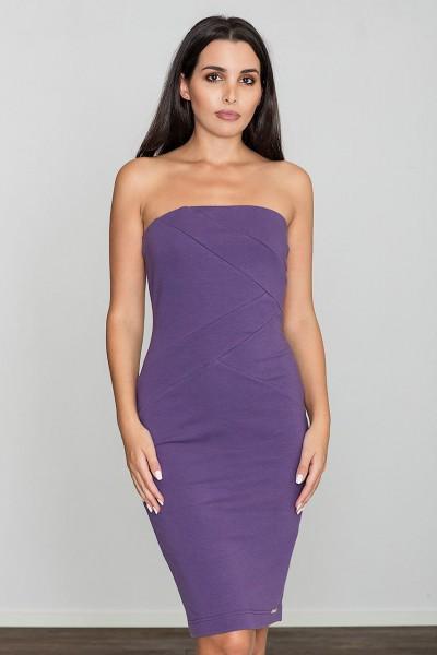 Dámské šaty Figl  M 575 fialová