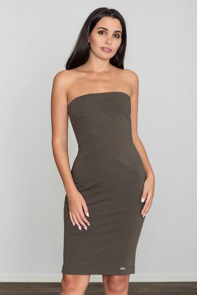 Dámské šaty Figl  M 575 olivové