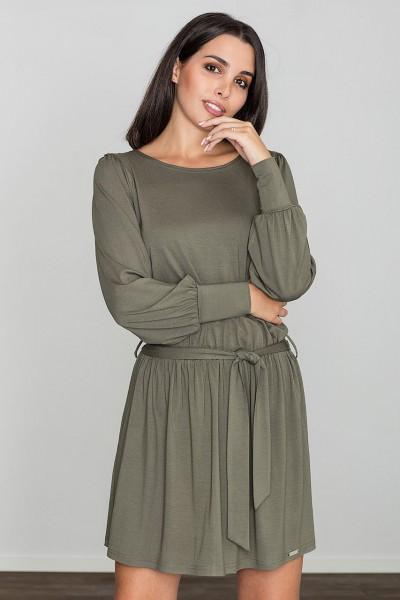 Dámské šaty Figl  M 576 olivové