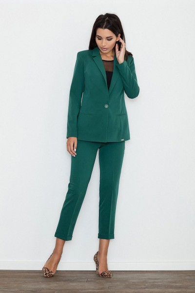 Dámské kalhoty Figl M552 zelená