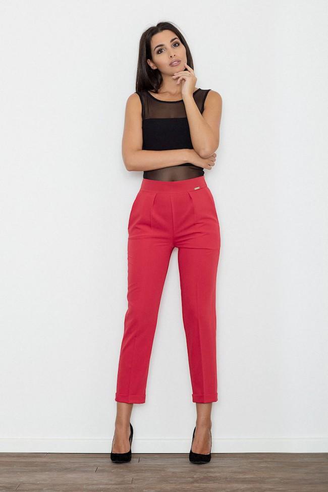 Dámské kalhoty Figl M552 červené
