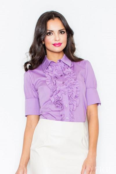 Košile Figl 25 fialová