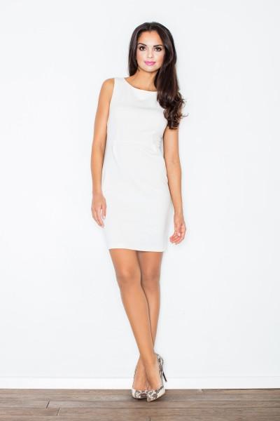 Dámské šaty Figl  M 079 ecru