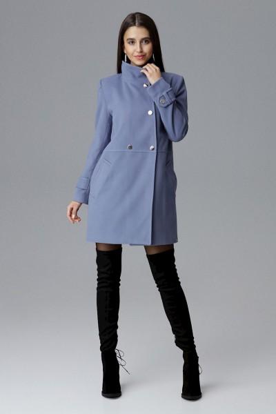 Dámský kabát Figl M623 modrá