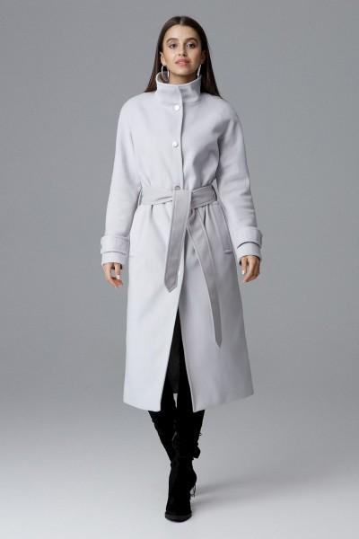 Dámský kabát Figl M624 šedá