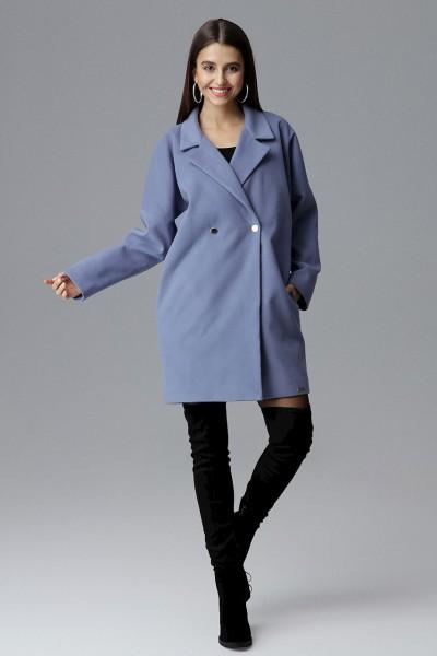 Dámský kabát Figl M625 modrá