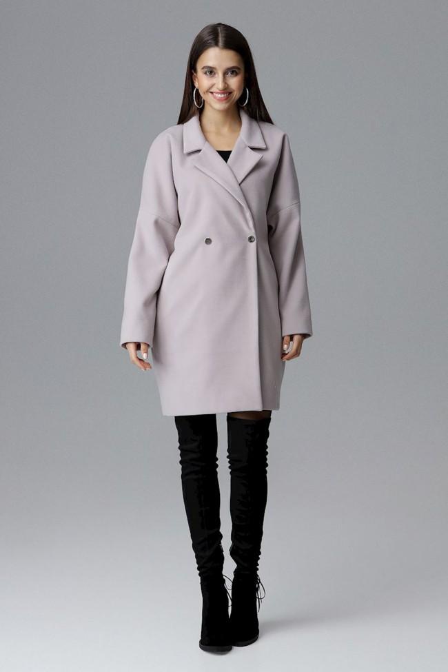 Dámský kabát Figl M625 béžová