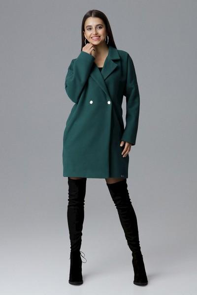 Dámský kabát Figl M625 zelená