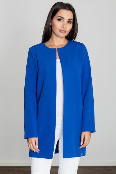 Dámský kabát Figl M551 modrý