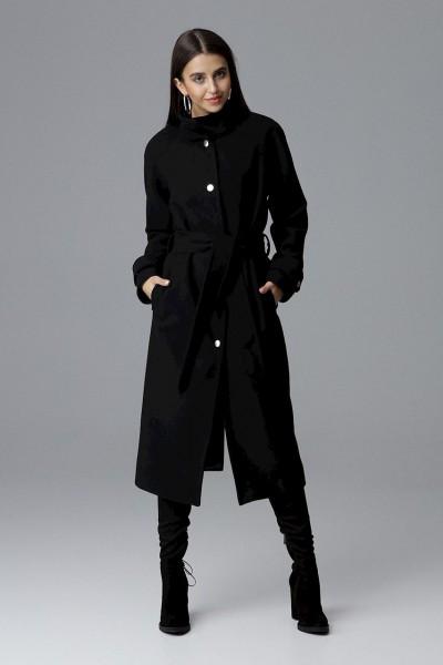Dámský kabát Figl M624 černá - výprodej velikost M